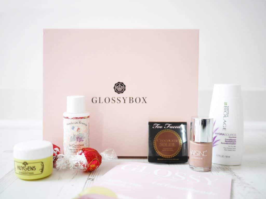 GlossyBox - Octobre 2015