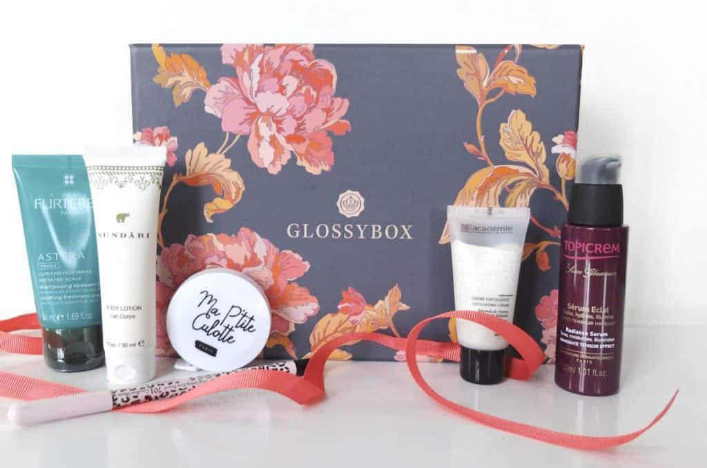 GlossyBox - Octobre 2014