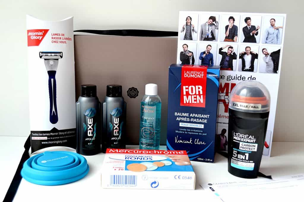 GlossyBox Homme - Juin 2014