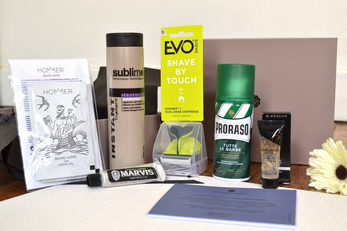 GlossyBox Homme - Mai 2017