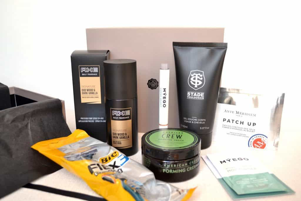 GlossyBox Homme - Février 2016