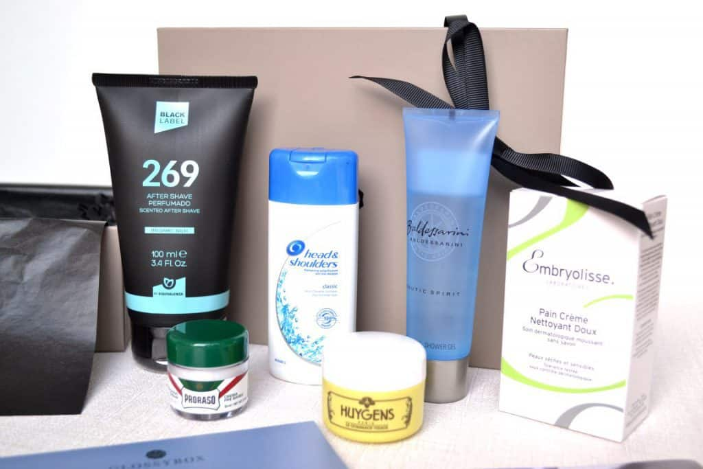 GlossyBox Homme - Septembre 2016