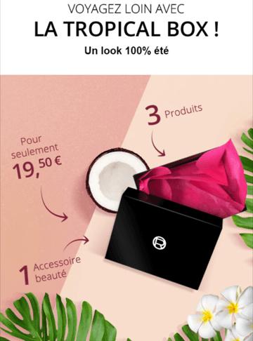 """Révélations sur """"La tropical box"""" : L'Or Box de L'Oréal de juillet 2017"""