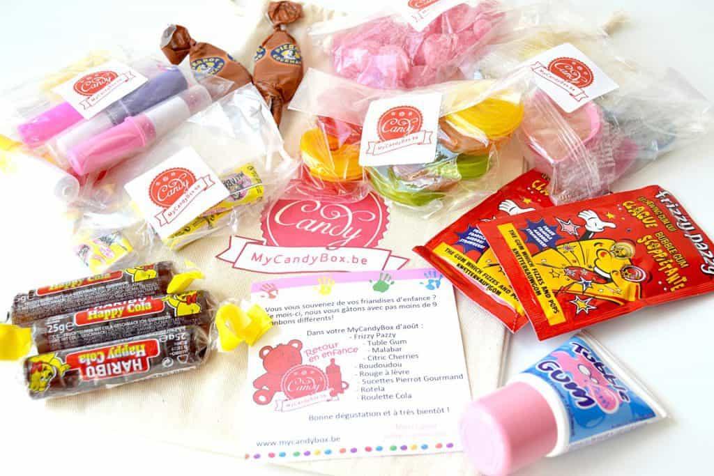 My Candy Box - Août 2014