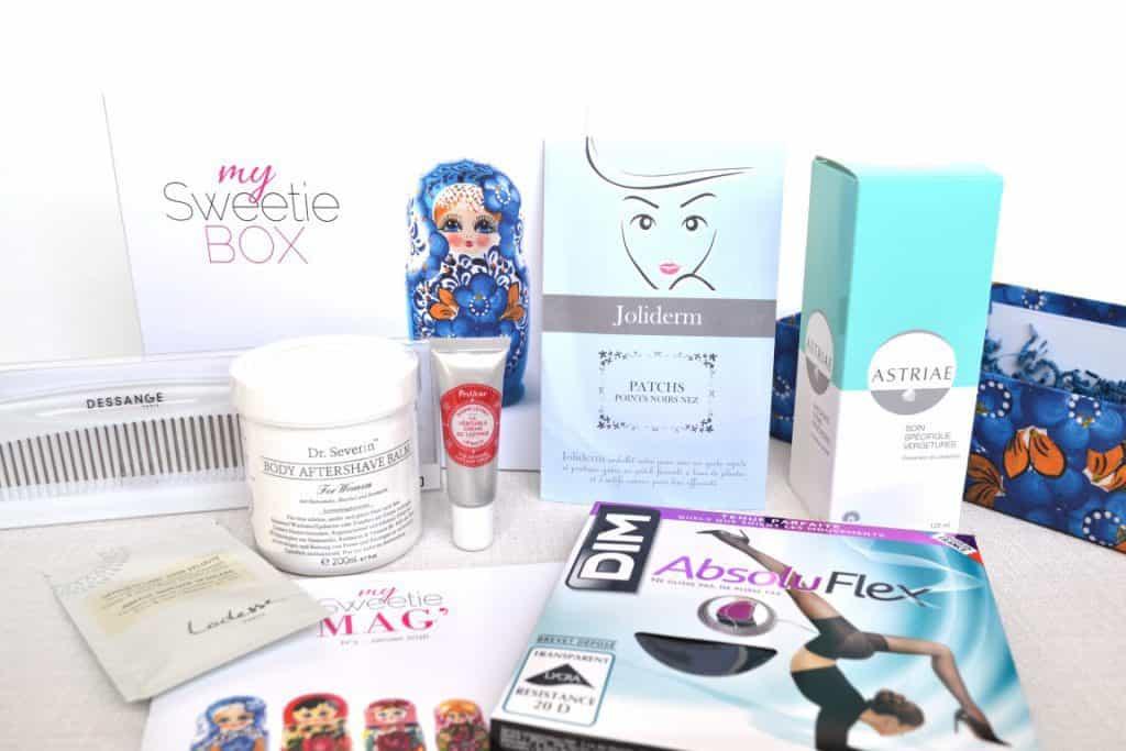 My Sweetie Box - Janvier 2016