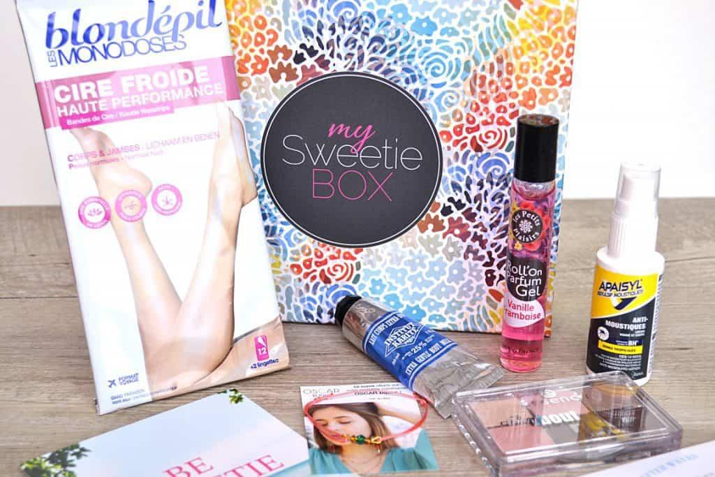 My Sweetie Box - Juillet 2015