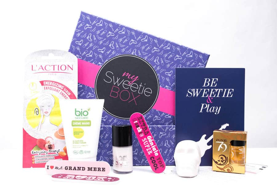 My Sweetie Box - Mars 2014