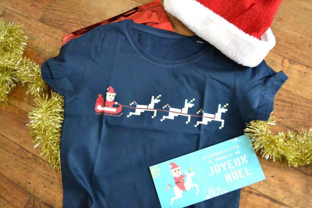 My TeeShirtLetter - Décembre 2016