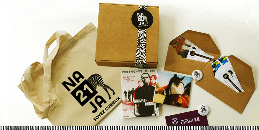 NAJA21 La boîte