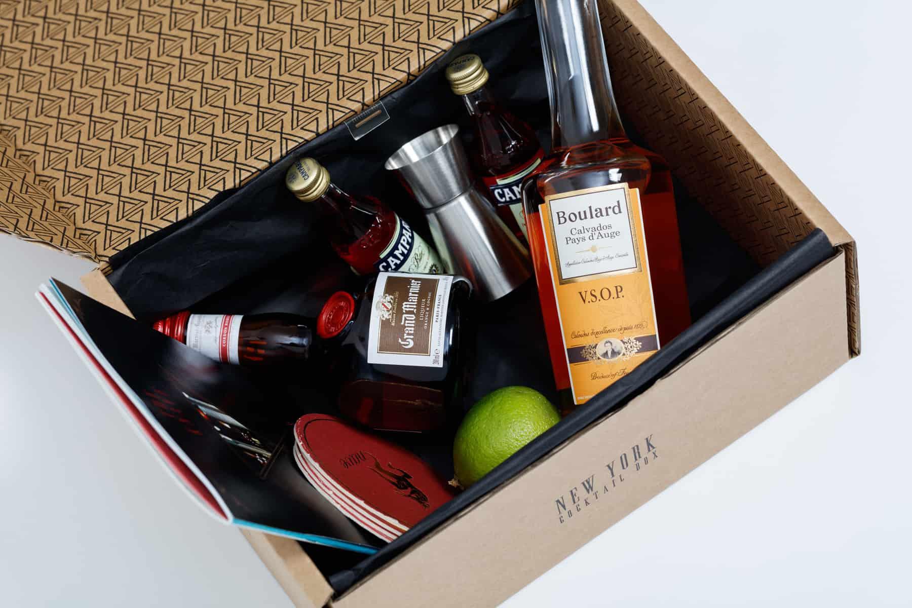 New York Cocktail box