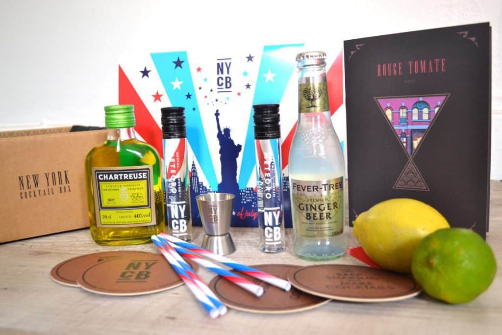 New York Cocktail Box - Juillet 2017