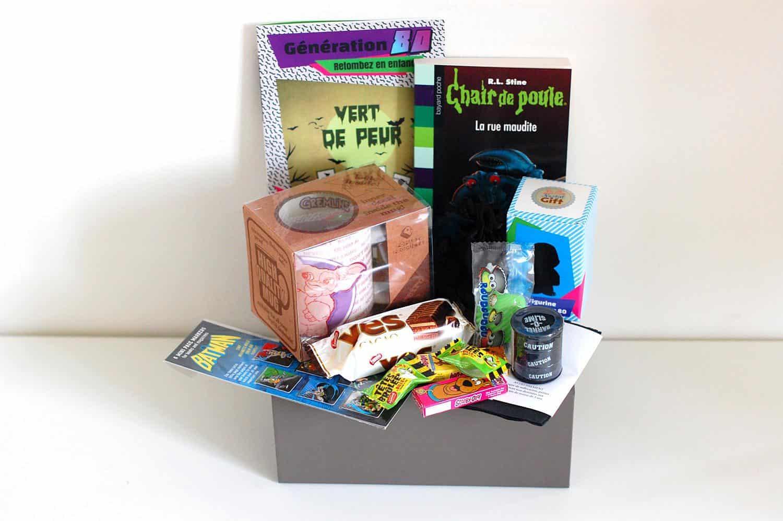 nostalgift octobre 2015 la box du mois avis et tests de box mensuelles. Black Bedroom Furniture Sets. Home Design Ideas