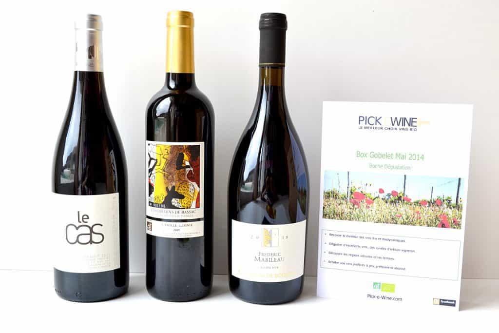 Pick E Wine - Mai 2014
