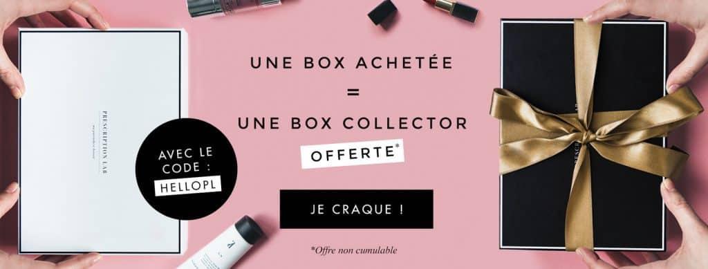 Prescription Lab : Une box collector gratuite avec la box de Juin 2017