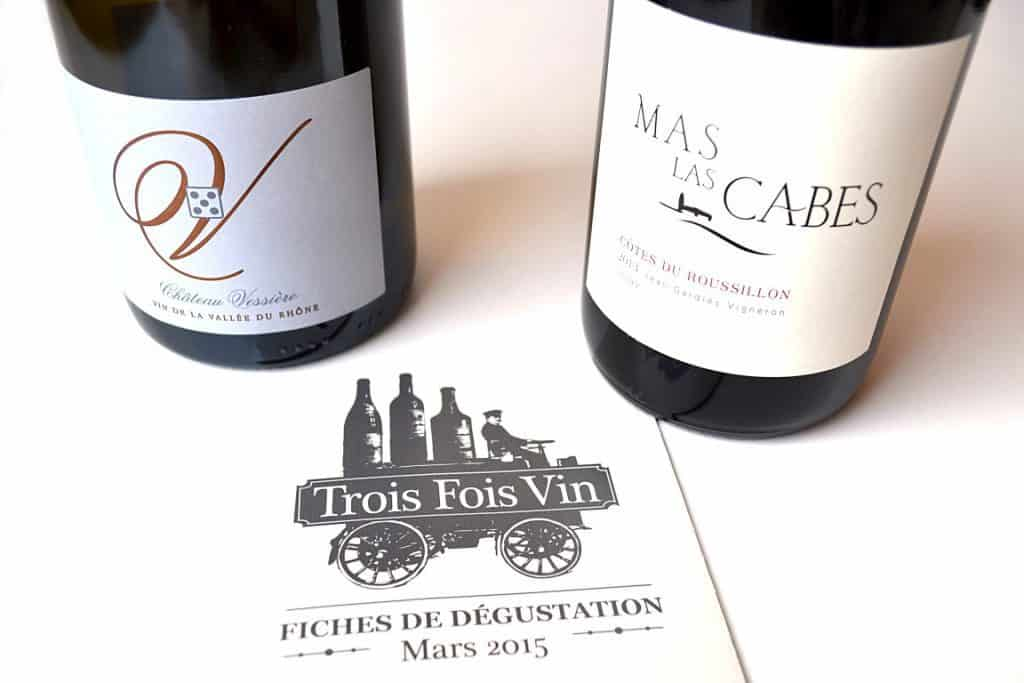 Trois Fois Vin - Mars 2015