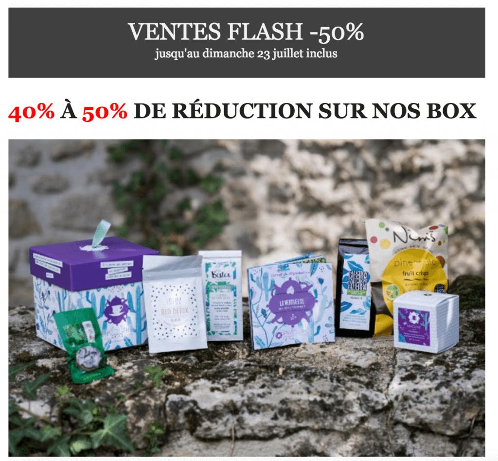 Vente flash chez Envouthé : Jusqu'à – 50 % sur une sélection de box