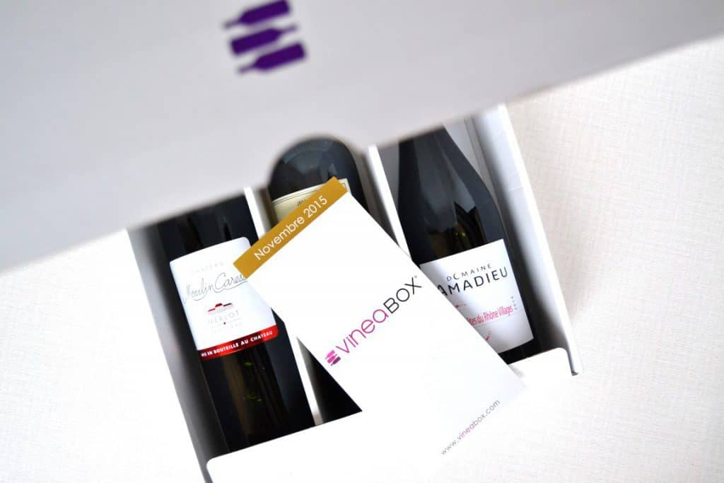 Vineabox - Décembre 2015