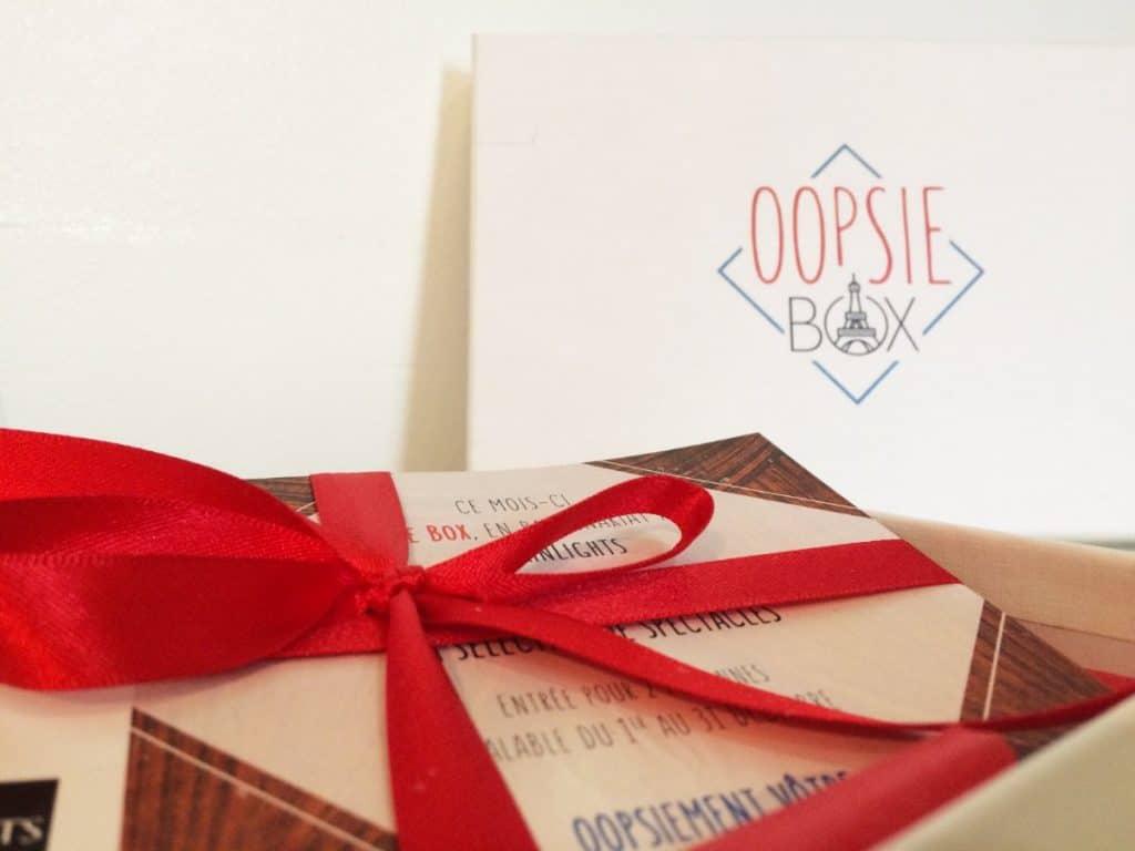 Oopsie Box Décembre 2017