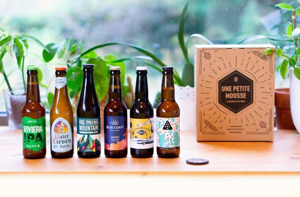 Une Petite Mousse : Une Box surprise pour tous les amoureux de la bière