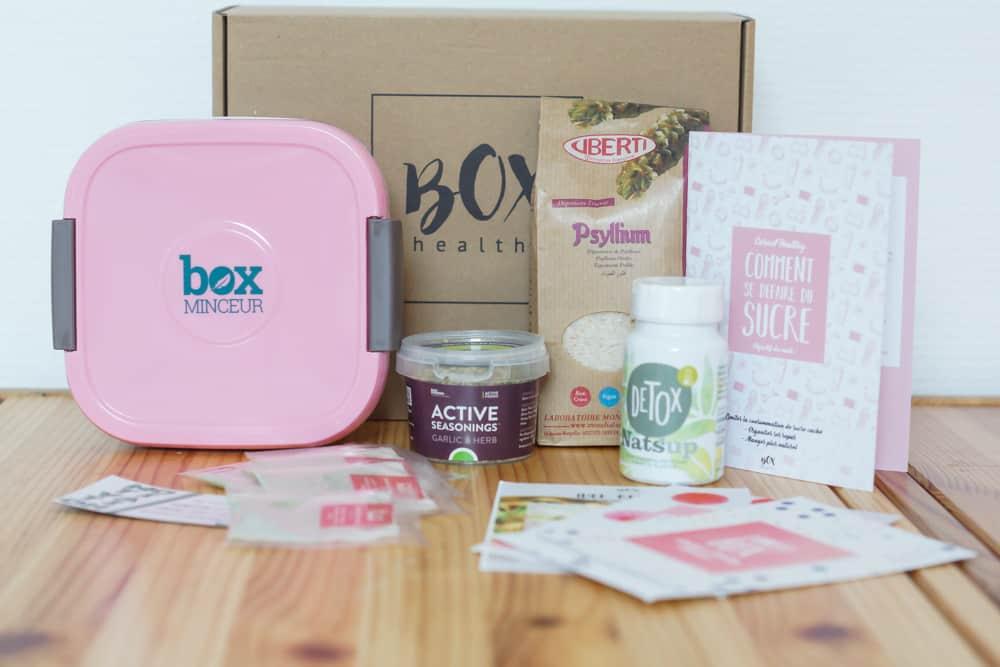 Box Healthy du mois de Mars 2018 ayant pour thème Zéro Sucre
