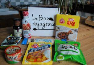 Box Voyageuse Juin 2018 Corée