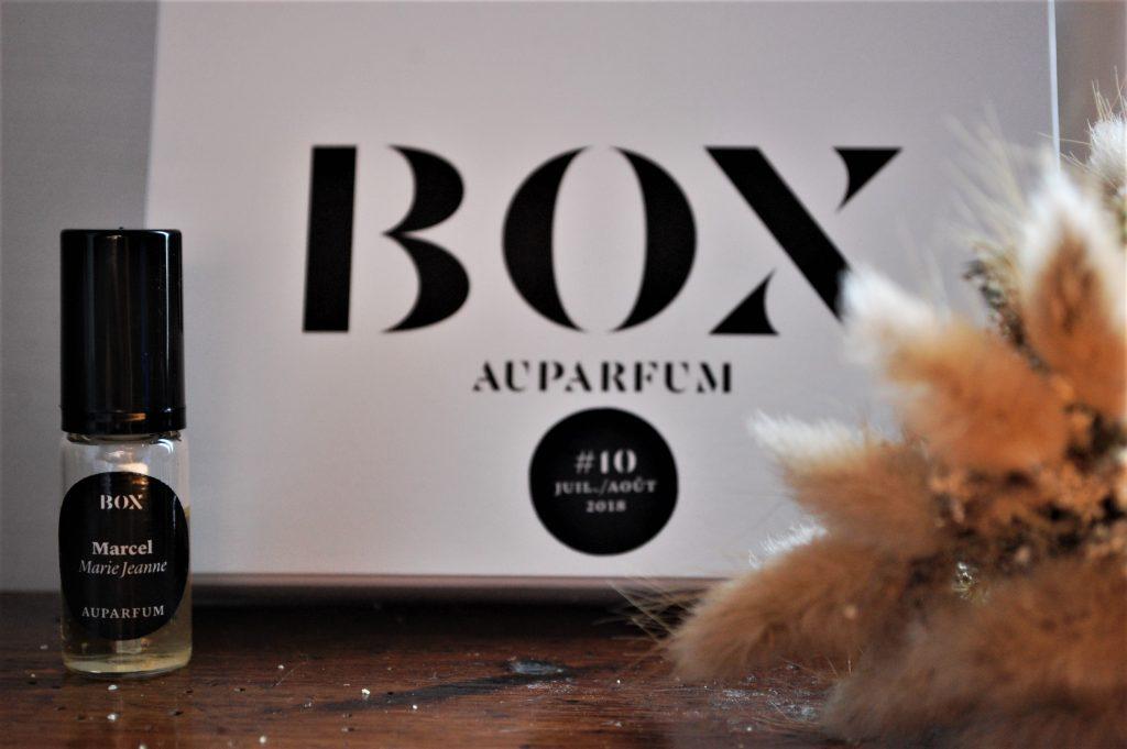 Box Au Parfum 10 - juillet aout 2018