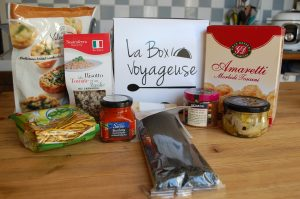 Box Voyageuse Italie Aout 2018