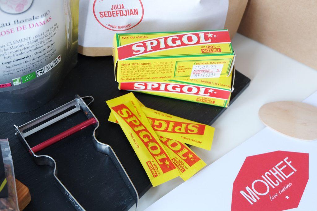 Spigol pour parfumer les plats