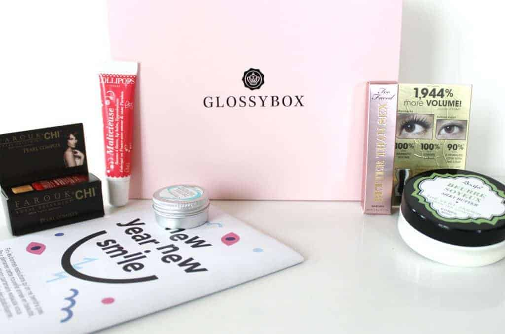 Glossybox Edition de Janvier 2015 « New year New smile »
