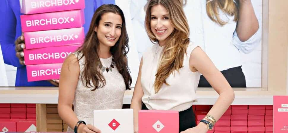 Hayley Barna et Katia Beauchamp créatrices des Birchbox