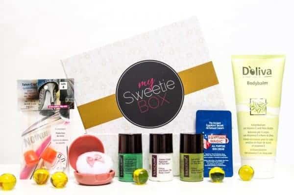 Un exemple de Sweetie Box