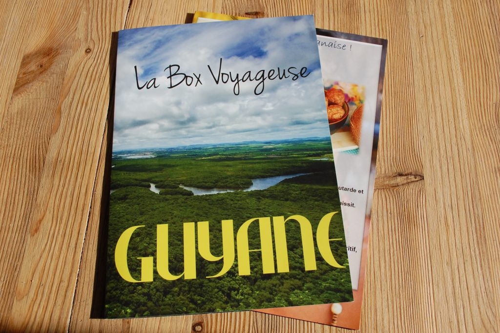 La Box Voyageuse de Novembre 2018 La Guyane