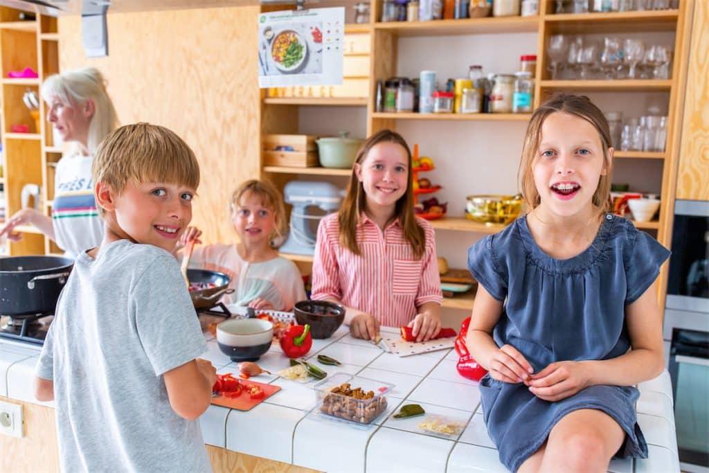 Pas facile de faire à manger pour toute la famille