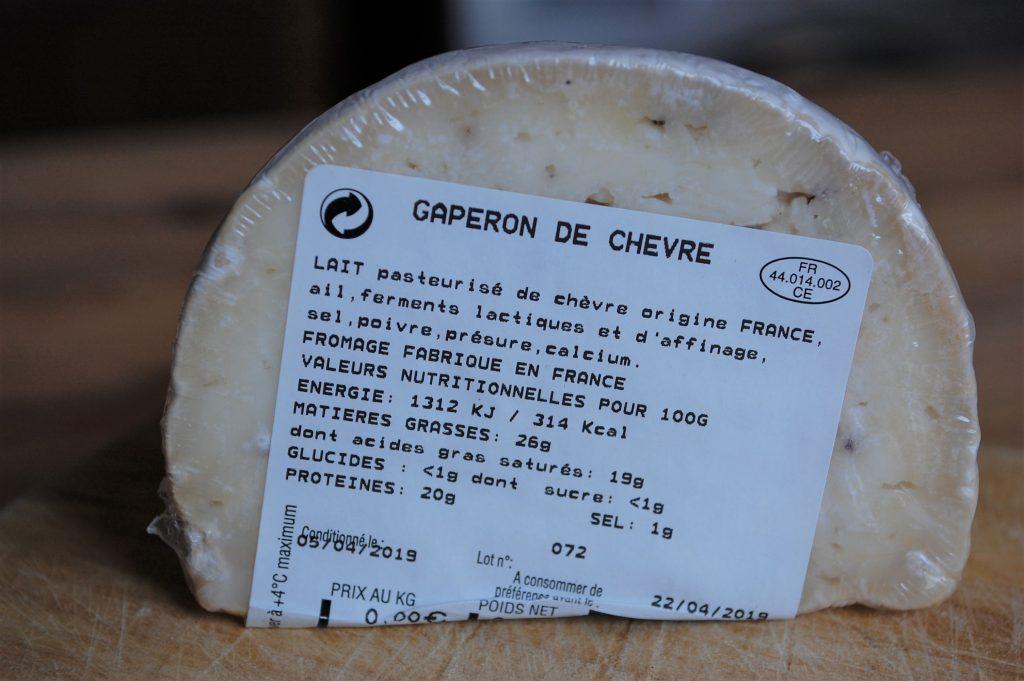 Boite du fromager d'avril 2019