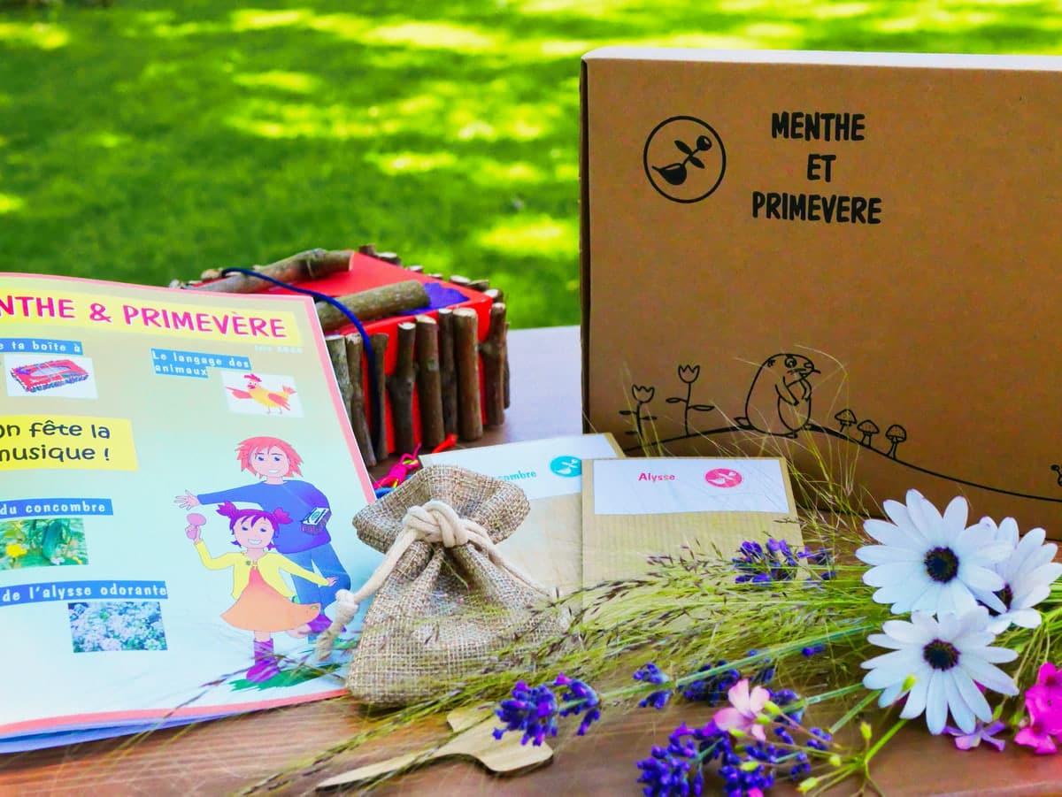 Menthe et Primevère - La Box du mois