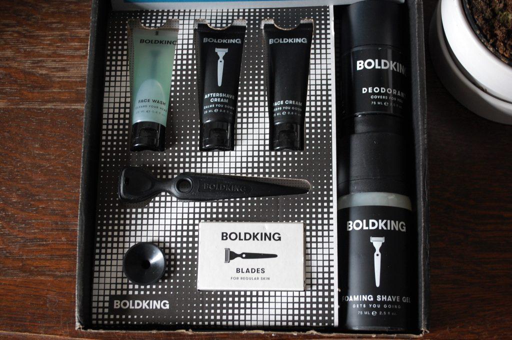 Boldking - kit de rasage