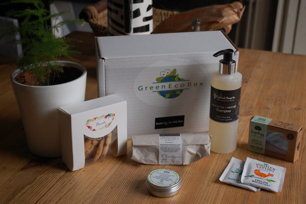 Green Eco Box d'Octobre 2019