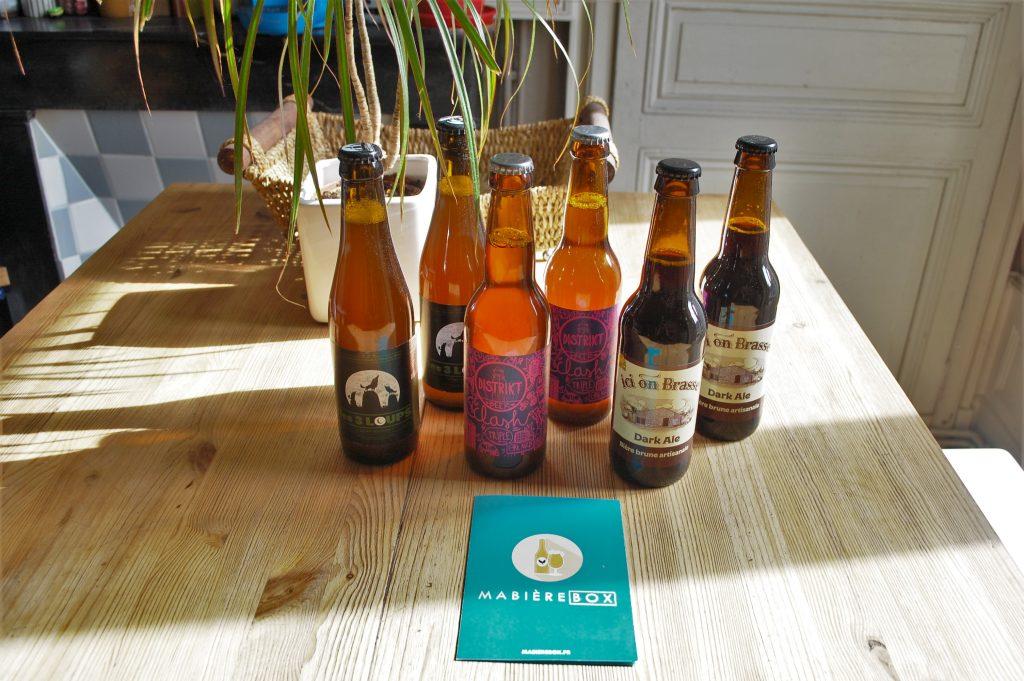 Ma Bière box d'Octobre 2019