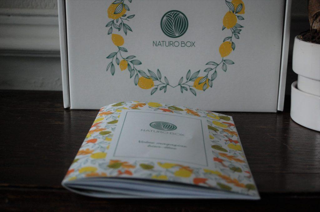 Naturobox de septembre-octobre 2019