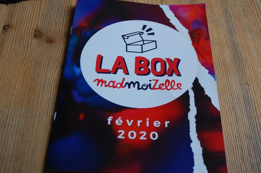 Box Madmoizelle de février 2020
