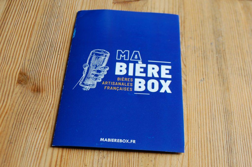 Ma Bière box d'avril 2020