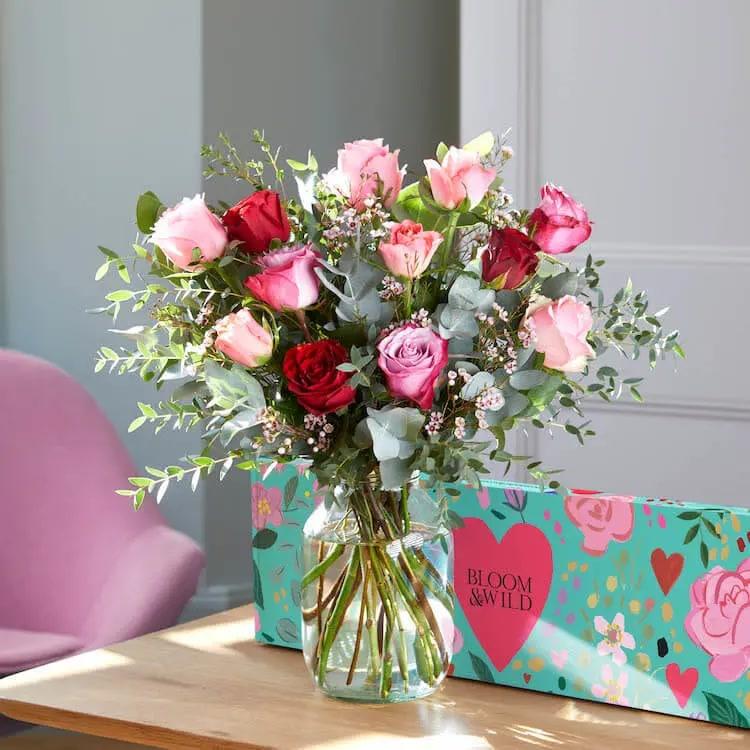 Un bouquet de fleurs Bloom & Wild