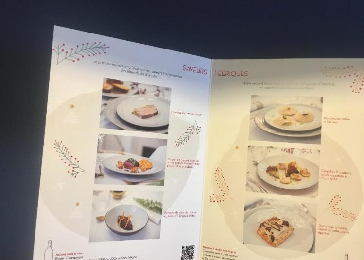 Brochure avec recettes
