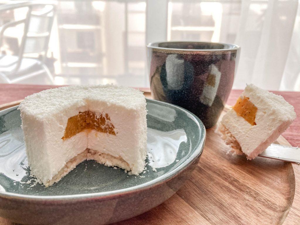 Gâteau nuage de coco