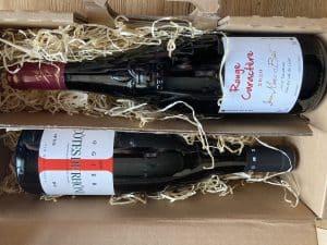 box vin rouge