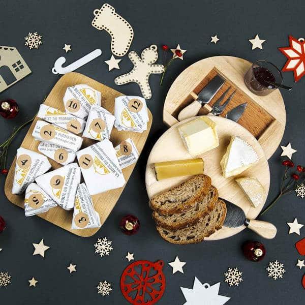 Calendrier de l'avent du fromage du Meilleur Ouvrier de FranceCalendrier de l'avent du fromage du Meilleur Ouvrier de France