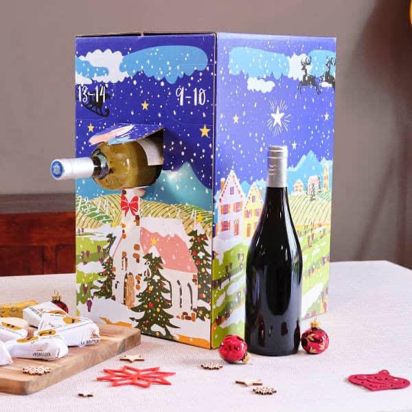 Calendrier de l'avent du vin par La Boîte du Fromager