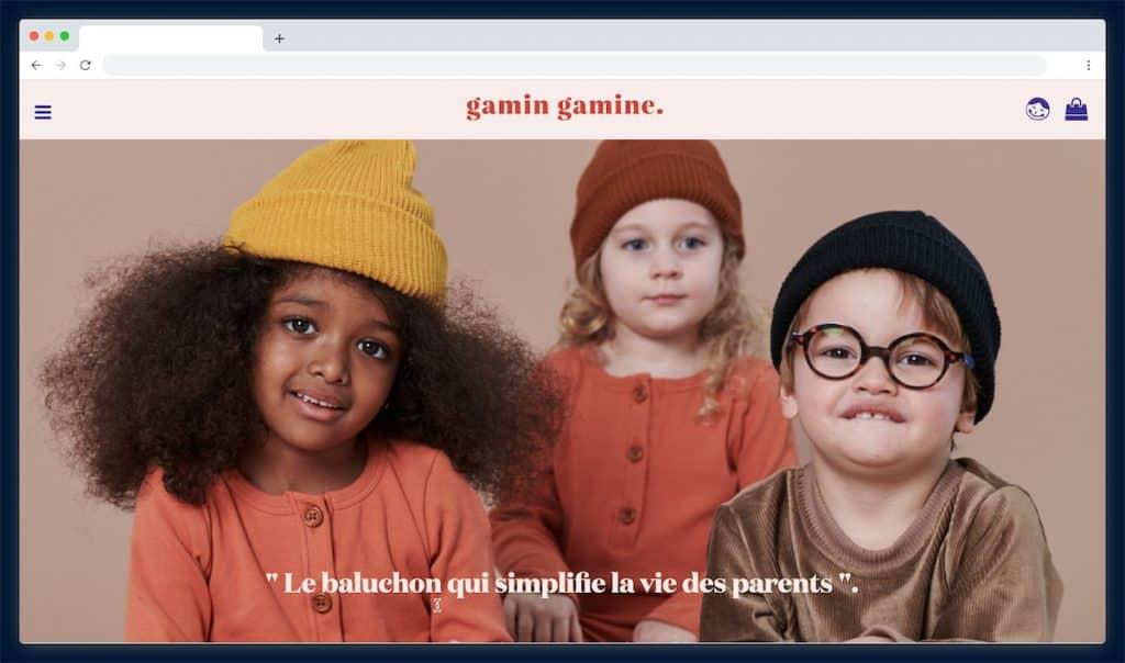 Gamin et Gamine : les habits de 3 mois à 6 ans