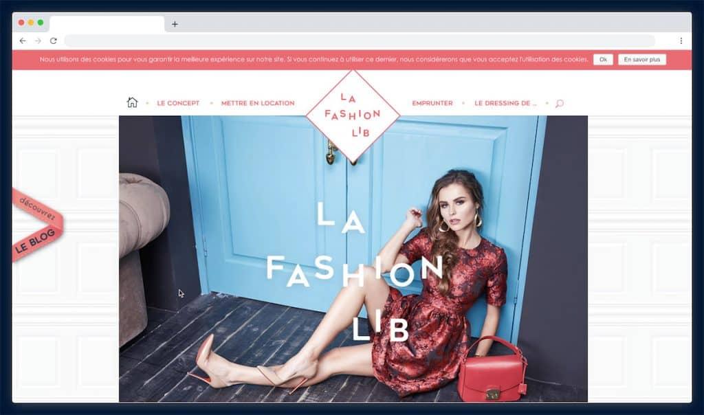 La Fashion Lib : la plateforme de location de vêtement communautaire