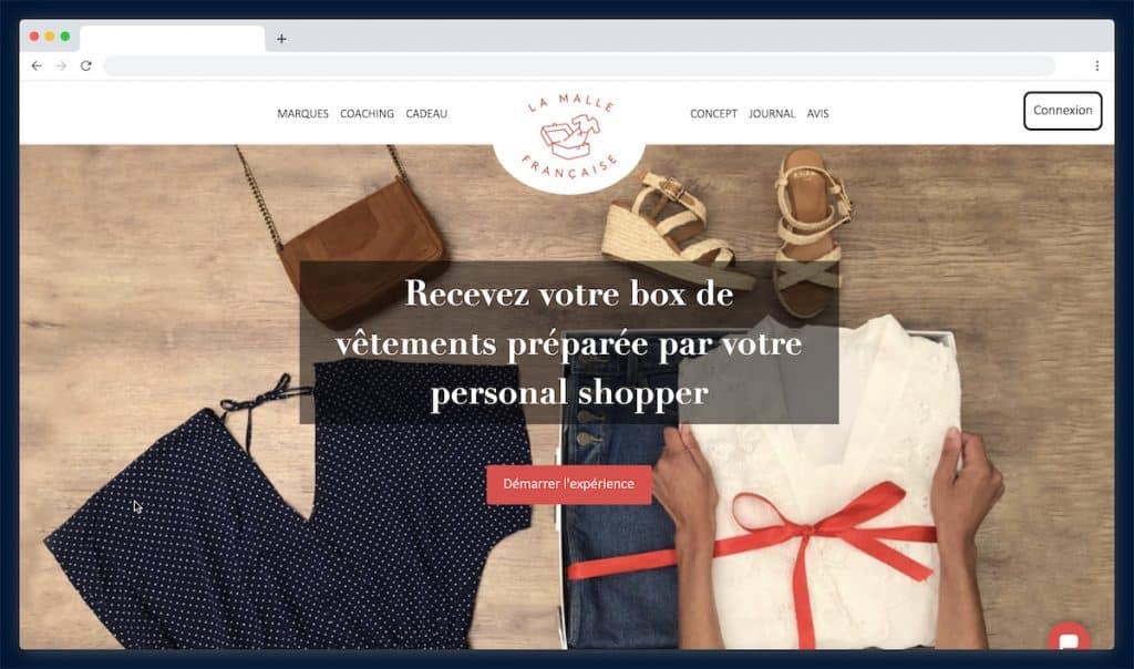 La Malle Française : 12 vêtements choisis par votre propre conseiller mode